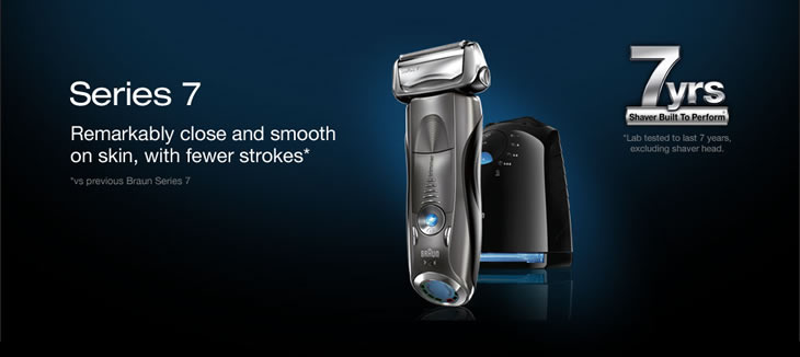 braun electric shavers 790cc