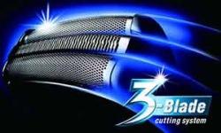 Panasonic 3 blade cutting system