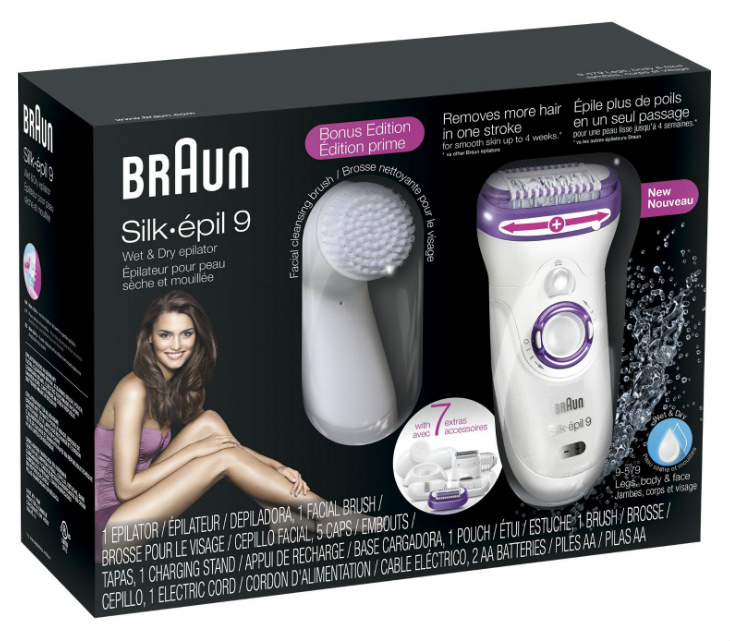 Braun Silk Epil 9 box