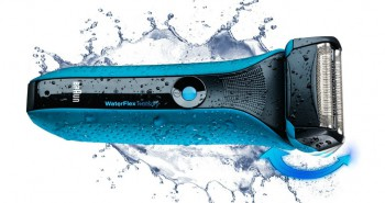 Braun Waterflex Blue