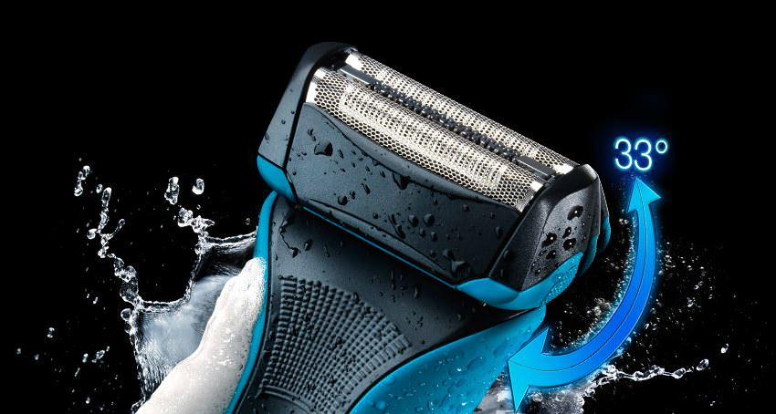 Braun Waterflex Blue head
