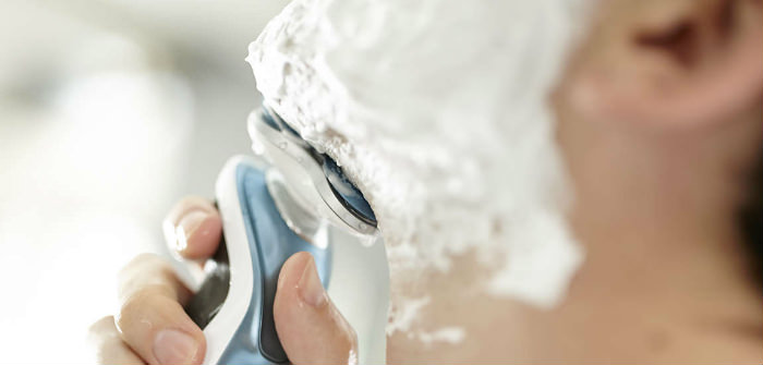 Philips Norelco 7300 wet shave