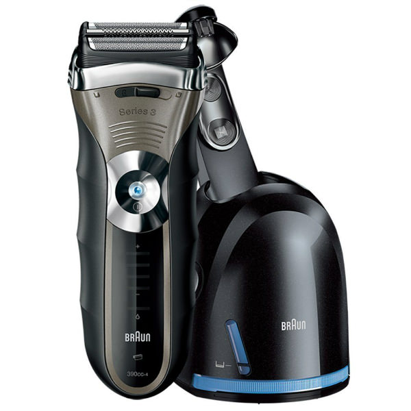 Braun 3 Series 390CC-4 with cleaning unit