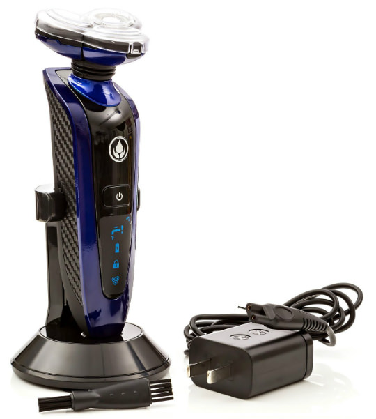 Creation Springs Wet Dry Men's Electric Rechargeable Shaver box