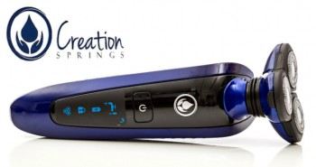 Creation Springs Wet Dry Men's Electric Rechargeable Shaver comfortable