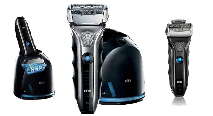Braun Series 5-565cc Shaver System Black and Silver