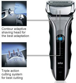 Braun Series 5-565cc Shaver System Quick 5 minute charge