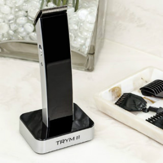 TRYM II - The Rechargeable Modern Hair Clipper Kit Professional-grade metal blades