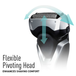 Panasonic ES-RT47-S Arc3 Electric Razor Pivoting Head