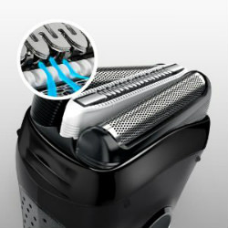 Braun Series 3 3040 Wet and Dry Shaver MicroComb technology