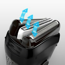 Braun Series 3 3040 Wet and Dry Shaver Triple action cutting system