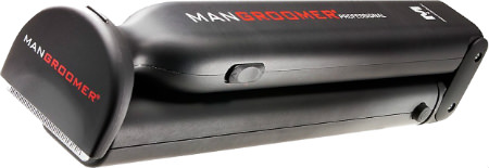 ManGroomer Sku 211-6 Professional Do-it-Yourself Electric Back Hair Shaver Rechargeable Battery Power