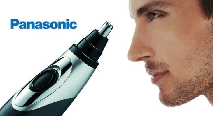 Panasonic Er430k Ear Amp Nose Trimmer With Vacuum Cleaning