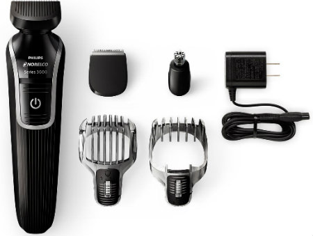 Philips Norelco Multigroom 3100 Rechargeable cordless and corded use