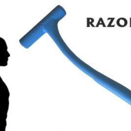 Razorba Back Hair Shaver