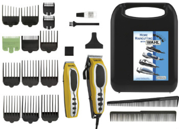 Wahl Groom Pro Total Body Grooming Kit High carbon steel blades