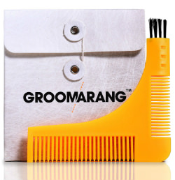 Groomarang Beard Styling and Shaping Template Comb Tool DIRECTIONS