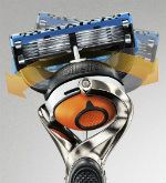 Gillette Fusion Proglide Men's Razor FlexBall Technology