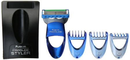 Gillette Fusion Proglide Styler 3-In-1 Men's Body Groomer Precision Edging Blade