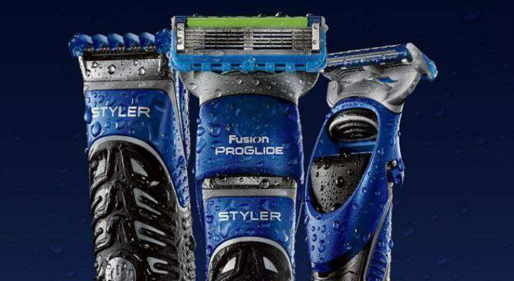 Gillette Fusion Proglide Styler 3-In-1 Men's Body Groomer shaves closely