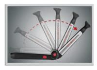 MANGROOMER Ultimate Pro Back Shaver 135 degree opening