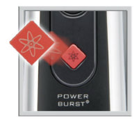 MANGROOMER Ultimate Pro Back Shaver Power Burst button