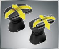 MANGROOMER Ultimate Pro Back Shaver shock absorber multi-functional flex neck and head