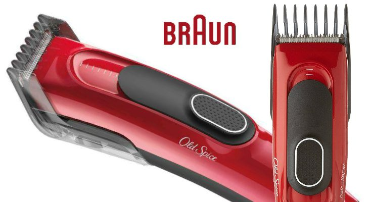 Old Spice Hair Clipper Powered By Braun
