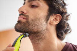Philips Norelco OneBlade hybrid electric trimmer and shaver Trim It Down