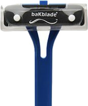 aKblades BIGMOUTH Do-It-Yourself Back Hair Shaver Wide Safety Blade