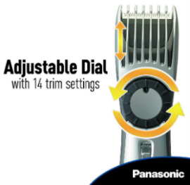 Panasonic ER224S Adjustable Dial
