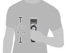 Panasonic ER224S Fully immersible trimmer